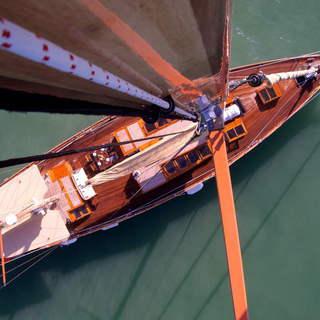 Sicht aus dem Mast