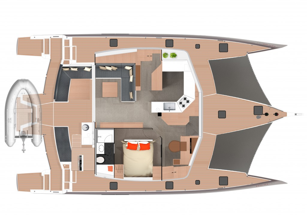 Layout upper level