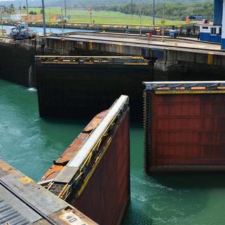 Panama Kanal Schleusentore