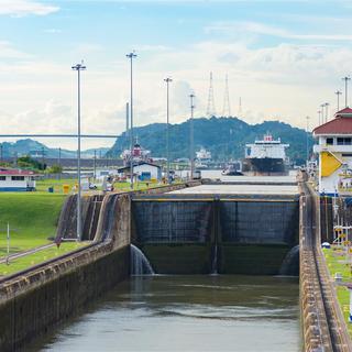 Panama Channel Lock
