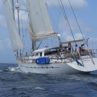 Beim segeln